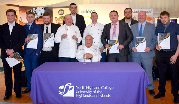 Young Highland Chef of Year Competition Winner Announced