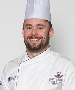 Orry Shand, Team Captain, The Scottish Culinary Team