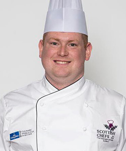 Robbie Penman, Team Manager, The Scottish Culinary Team