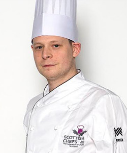 Rory Taylor, The Scottish Culinary Team