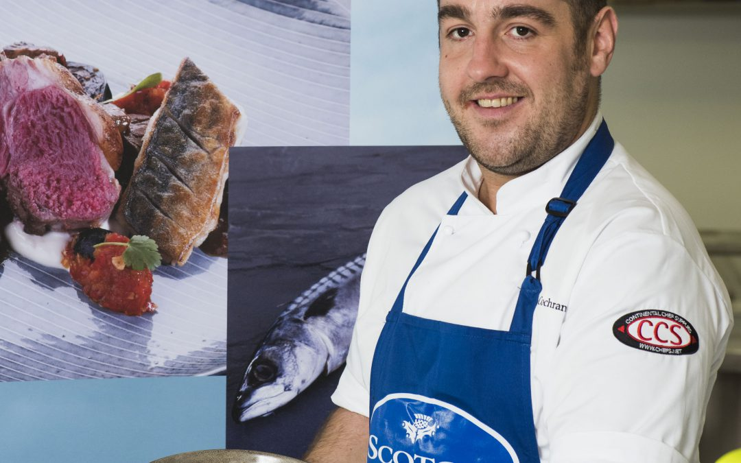 Winner of Scotch Lamb PGI Surf 'n' Turf Chef of the Year Announced