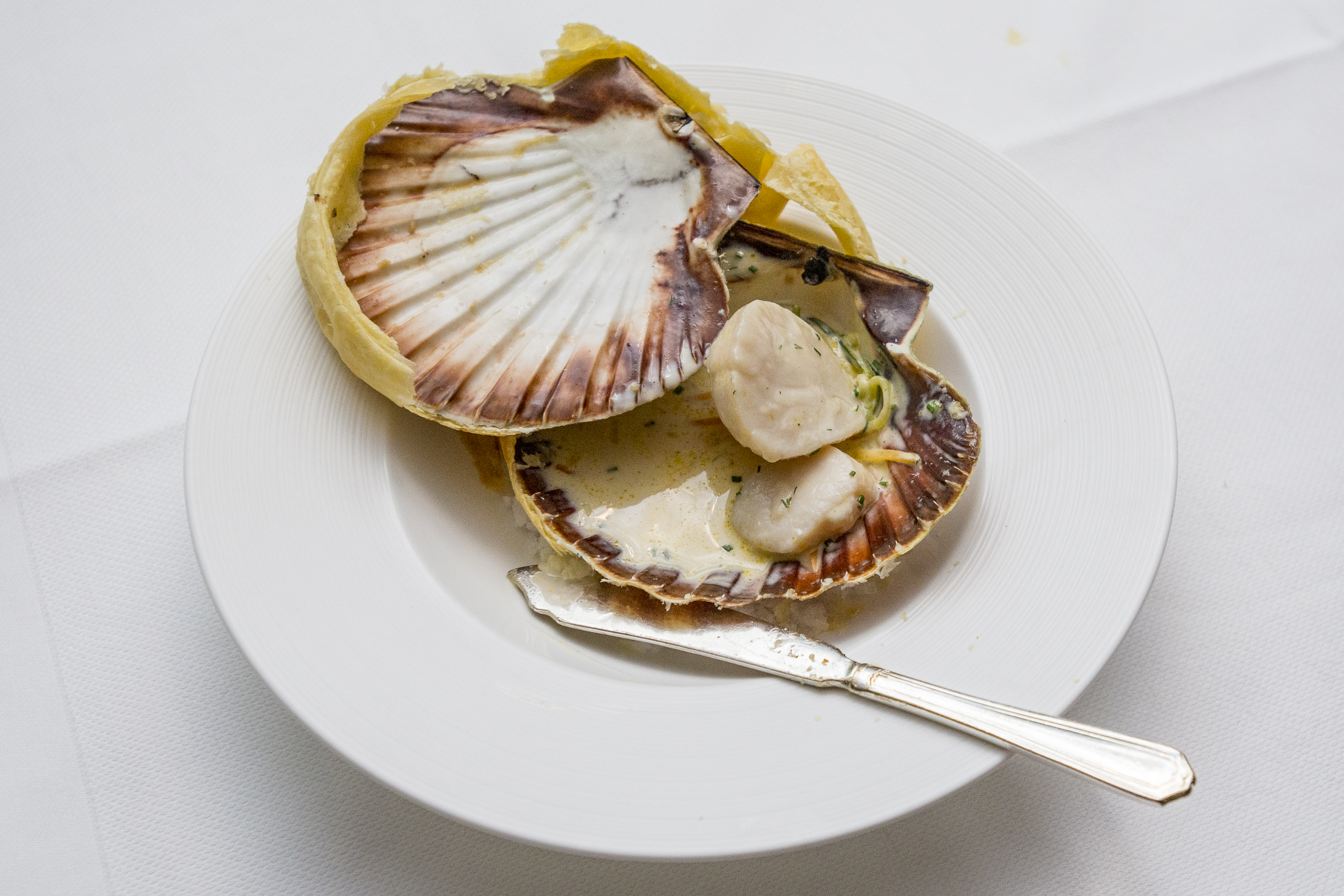 Hand Dived Orkney Scallops by Tom Kitchin 2