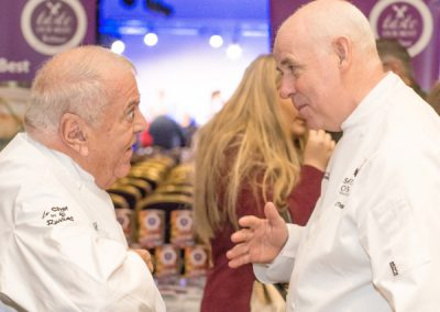 Chef Albert Roux OBE KFO, Patron of Scottish Chefs 2016-2021